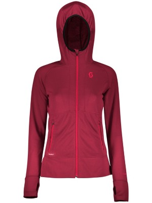 Scott Defined Polar Outdoor Jacket mahogany red Naiset