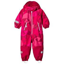 Reimatec® Kiddo Winter Overall Snowy Berry92 cm