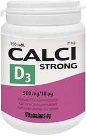 Vitabalans Calci Strong + D3