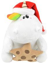 """Chubby Unicorn"""" """"Weihnachts Pummeleinhorn mit Mä¼tze und Keksstern"""