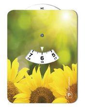 Auringonkukka 028 kuvallinen parkkikiekko