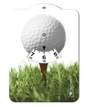 Golfpallo 001 kuvallinen parkkikiekko
