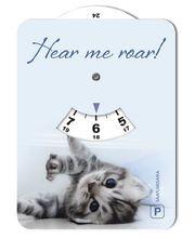 Kissa 044 kuvallinen parkkikiekko