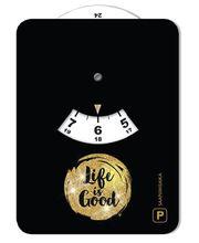 Life is Good 081 kuvallinen parkkikiekko