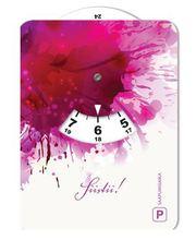 Pinkki 038 kuvallinen parkkikiekko