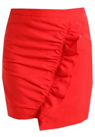 NAKD SIDE FRILL Kynähame red