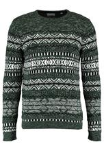 Only & Sons ONSOMAS CREW NECK Neule darkest spruce