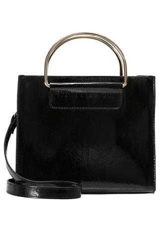 Dorothy Perkins METAL HANDLE Olkalaukku black