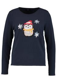 ONLY ONLXCHRISTMAS PENGUIN Neule sky captain