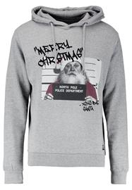 Shine Original BAD SANTA Huppari grey melange