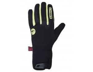CHIBA Dry Star Superlight winter gloves day-glo yellow M