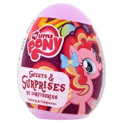 Ägg med leksak och godisbit - My Little Pony 10g