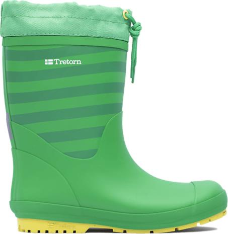 Tretorn J GRANNA WINTER GREEN/YELLOW