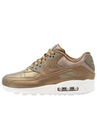 Nike Sportswear AIR MAX 90 PRM Matalavartiset tennarit metallic field/summit white/hazel rush