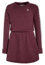Abercrombie & Fitch SLEEVE DRESS Vapaaajan mekko burgundy