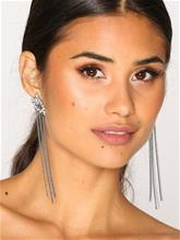 NLY Accessories Rhinestone Stud & Drop Earrings Korvakorut Hopea