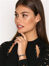 NLY Accessories Stretch Metal Wristband Rannekorut Hopea