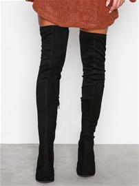 River Island Over Knee Boots Over the knee Black