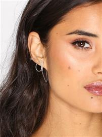 NLY Accessories Glitter Paper Ear Adornment Earrings Korvakorut Hopea