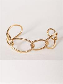 NLY Accessories Link Chain Cuff Rannekorut Kulta