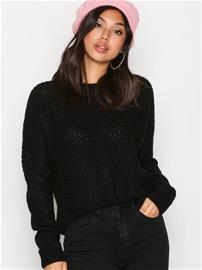 Calvin Klein Jeans Sue CN Sweater LS Neulepuserot Black