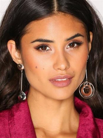 NLY Accessories Circle Drop Mismatch Earrings Korvakorut Hopea