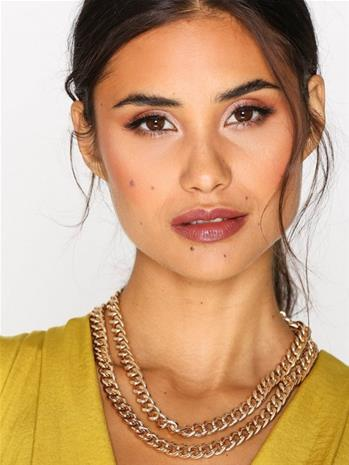 NLY Accessories Curb High Collar Necklace Kaulakorut Kulta