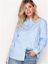 Only onlLAURETTE L/S Oversized Pop Shirt Kauluspaidat Sininen