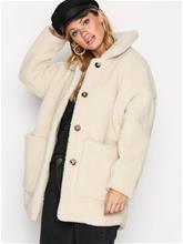 American Vintage Manteau Long Coat Tekoturkit Ecru