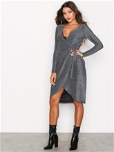 Glamorous Wrap Long Sleeve Dress Kotelomekot Hopea
