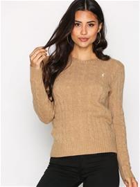 Polo Ralph Lauren Julianna Wool Sweater Neulepuserot Camel