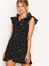 Motel Rica Ruffle Dress Loose fit Cosmos