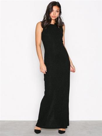 Dry Lake Loreen Dress Maksimekot Black