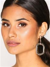NLY Accessories Mixed Metal Drop Earrings Korvakorut Kulta/hopea