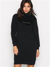 Calvin Klein Jeans Doll True Icon HWK LS Loose fit dresses Black