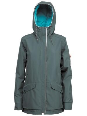Nitro Mtn Jacket emerald / du Naiset