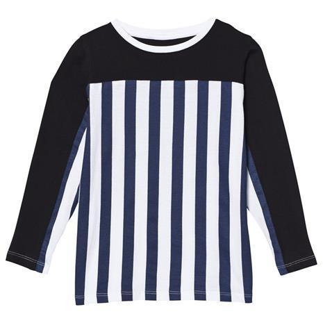 Stripe LS Tee Blue/Stripe Black80/86 cm