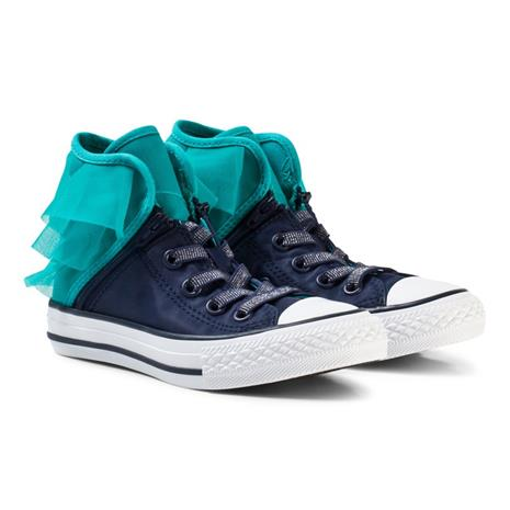 Navy and Blue Kids Chuck Taylor All Star Block Party27 (UK 10)