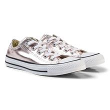 Pink Junior Chuck Taylor All Star Metallic Canvas OX35 (UK 2.5)