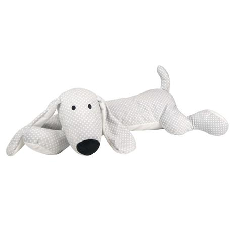 Plush Dog Grey