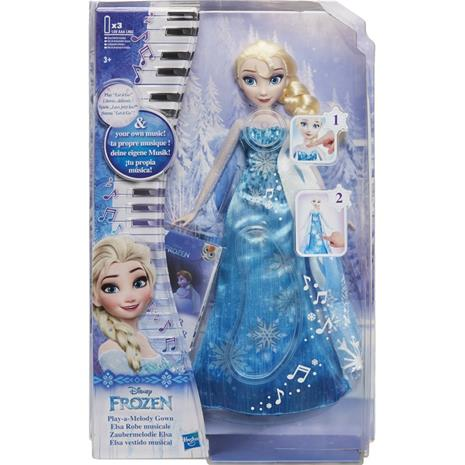 Musical Dress Doll, Elsa