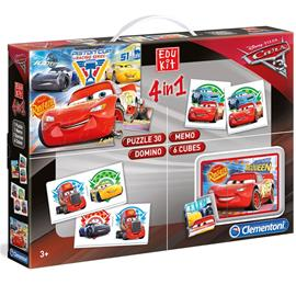 Disney Cars 3, Barnspel, Edukit 4 in 1