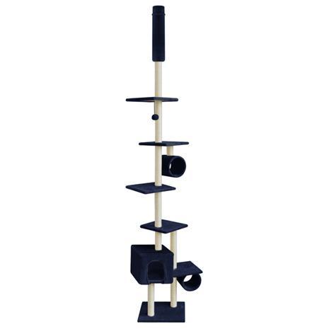 vidaXL Kissan Raapimispuu 260 cm Tummansininen