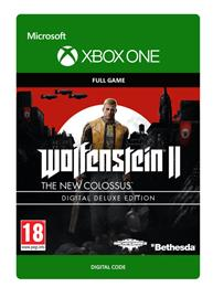 Wolfenstein II (2): The New Colossus Digital Deluxe, Xbox One -peli
