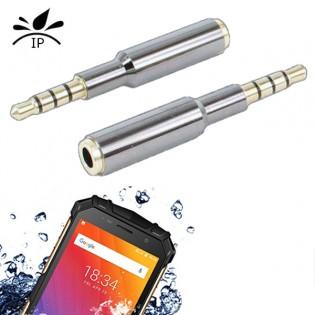 3.5mm adapteri iskunkestävälle puhelimelle