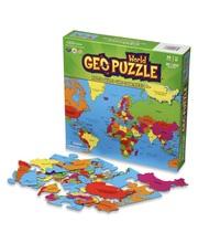 Geo Puzzle Maailma, palapeli 68 p.