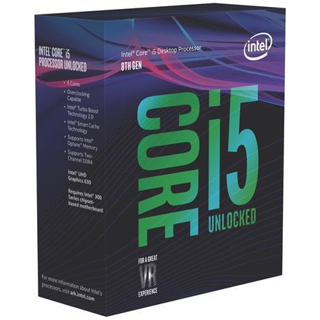 Intel Core i5-8600K, prosessori