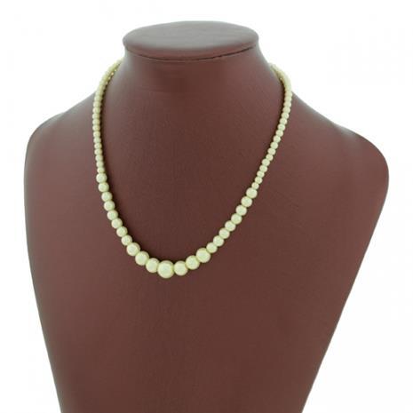 Glas Pärlhalsband - halsband