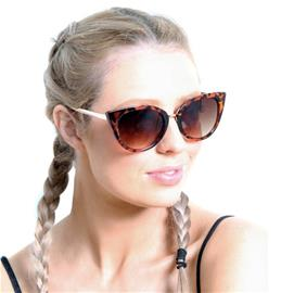Solglasögon - Kattmotiv med skölpaddsmönster