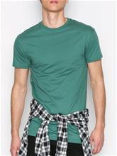Topman Green Longline Muscle Fit T-Shirt T-paidat ja topit Mid Blue